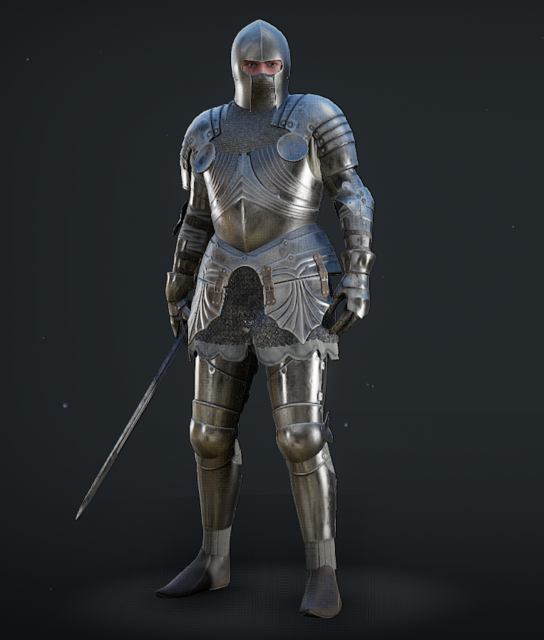 The Knight Of Hope Mordhau Mercenaries Knight Character Medieval