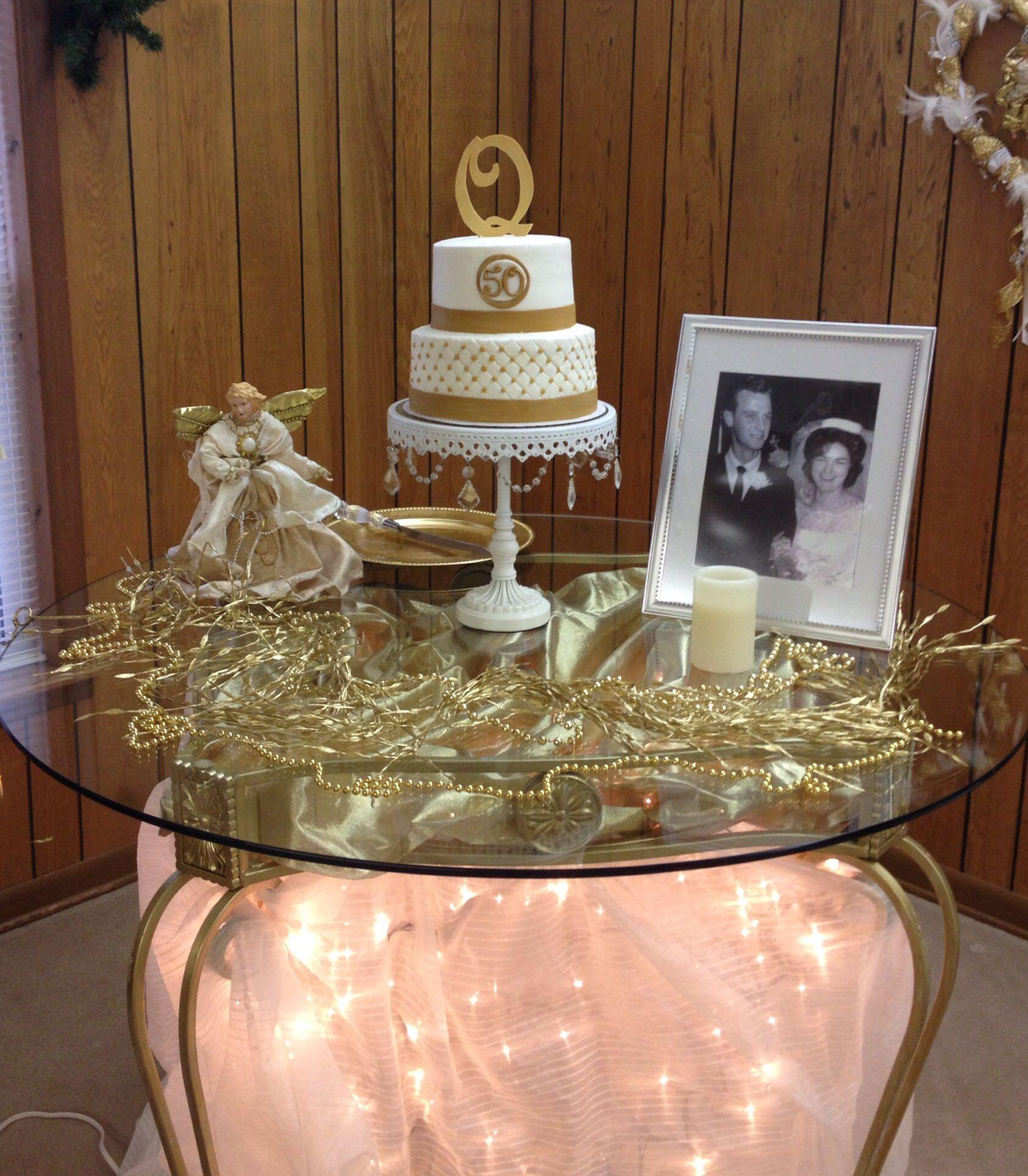 50th anniversary cake 50th wedding anniversary