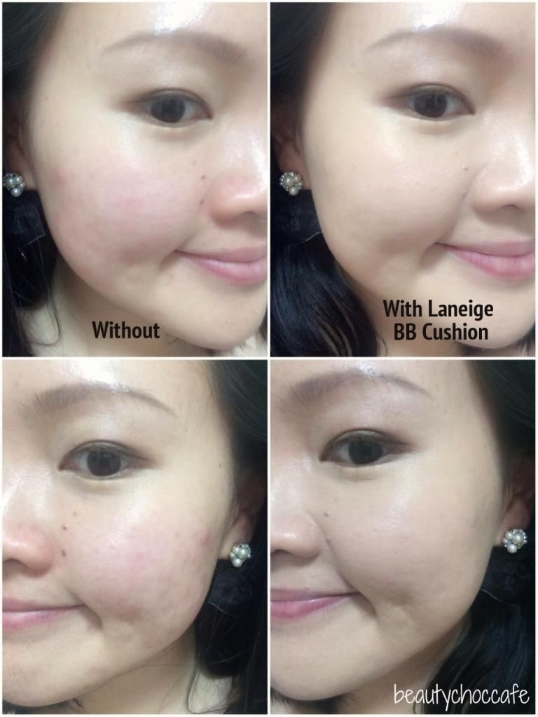 Review Laneige Bb Cushion Pore Control In No 21 Natural Beige