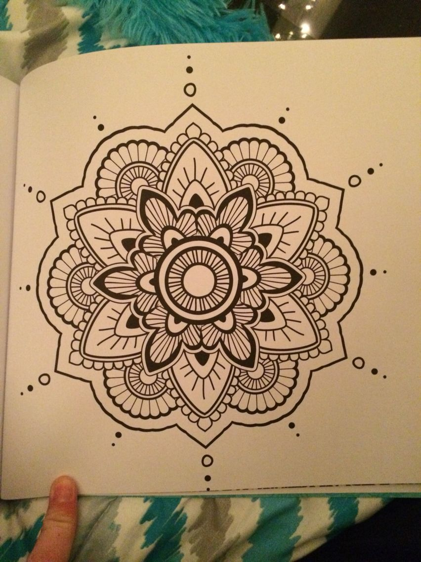 Mandala tatted and pierced in 2018 pinterest mandala mandala dessin and dessin - Dessin mandela ...