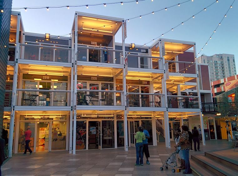 Container park google search rental apartments pinterest parks things to do in and las - Container homes las vegas ...