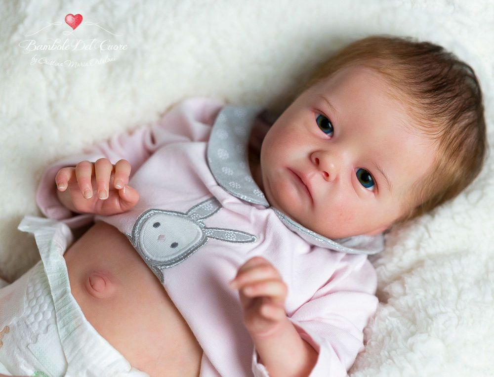Bambole Del Cuore - Reborn baby girl Tink by Bonnie Brown