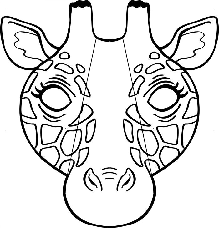 50 Free Animal Mask Templates Designs Animal Mask Templates