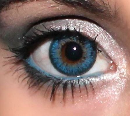 Blue colored contacts for brown eyes | Health Meds ...