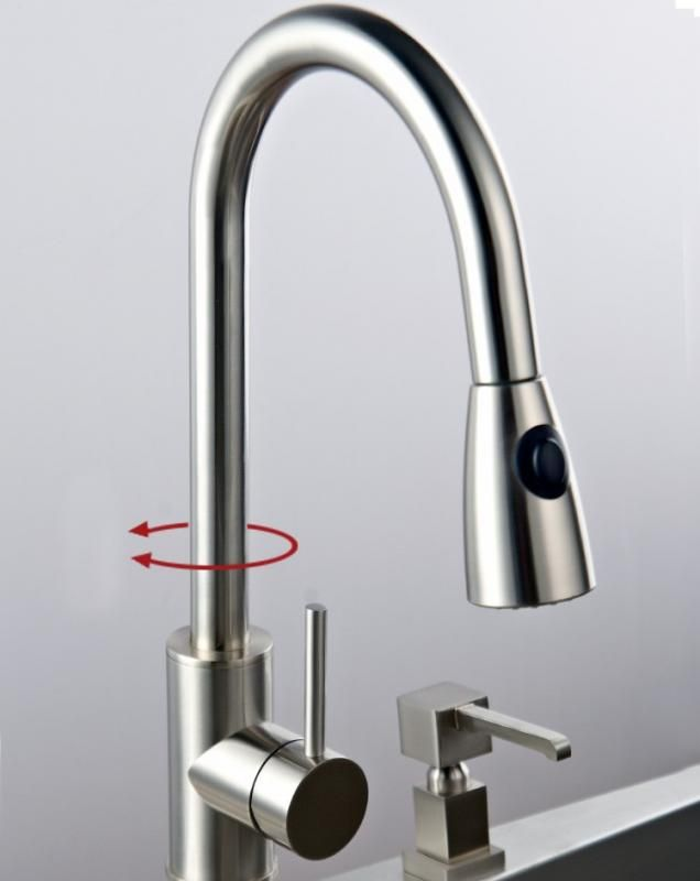 Solid Brass Kitchen Faucet Check more at https://rapflava.com/23567 ...