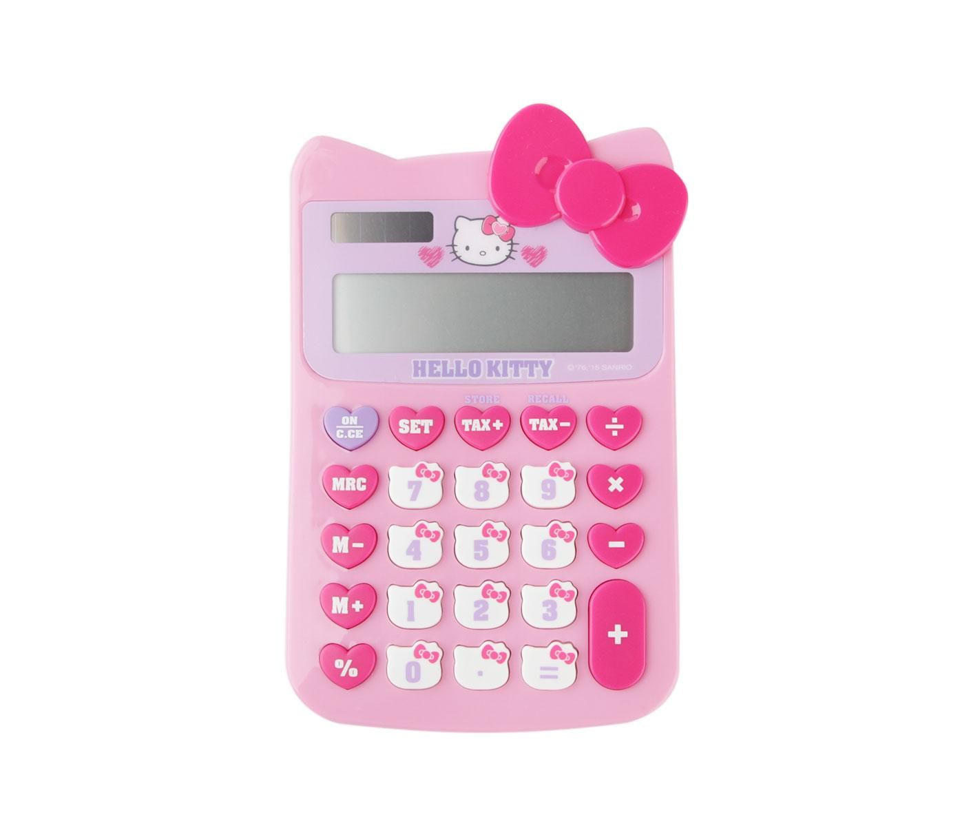 Hello Kitty Calculator #HelloKitty #HelloKittyOffice #Calculator