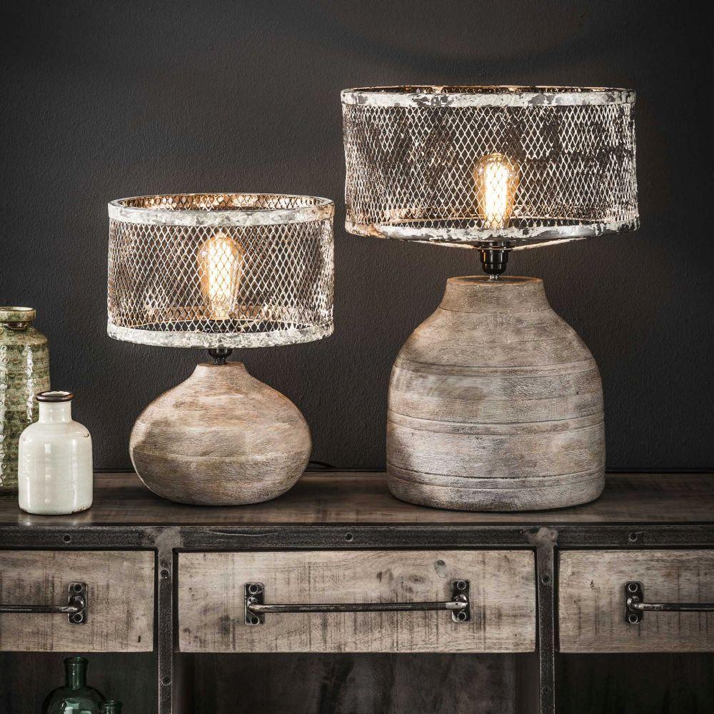 Vintage Tischlampe Rostfarben Tischlampen Vintage Tischlampen Lampe