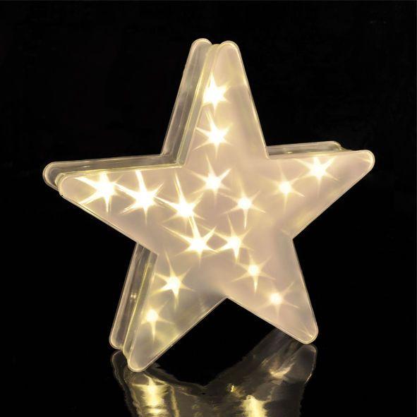 Weihnachten 3d Holografie Led Stern Mit 15 Lichtern Sternenlicht Fensterdeko In Mobel Wohnen Feste Besondere Anlasse Jahresze Led Stern Led Laterne Led