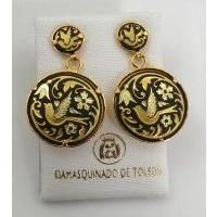 Damascene Jewelry made in Toledo Spain httpwwwottsavingscom