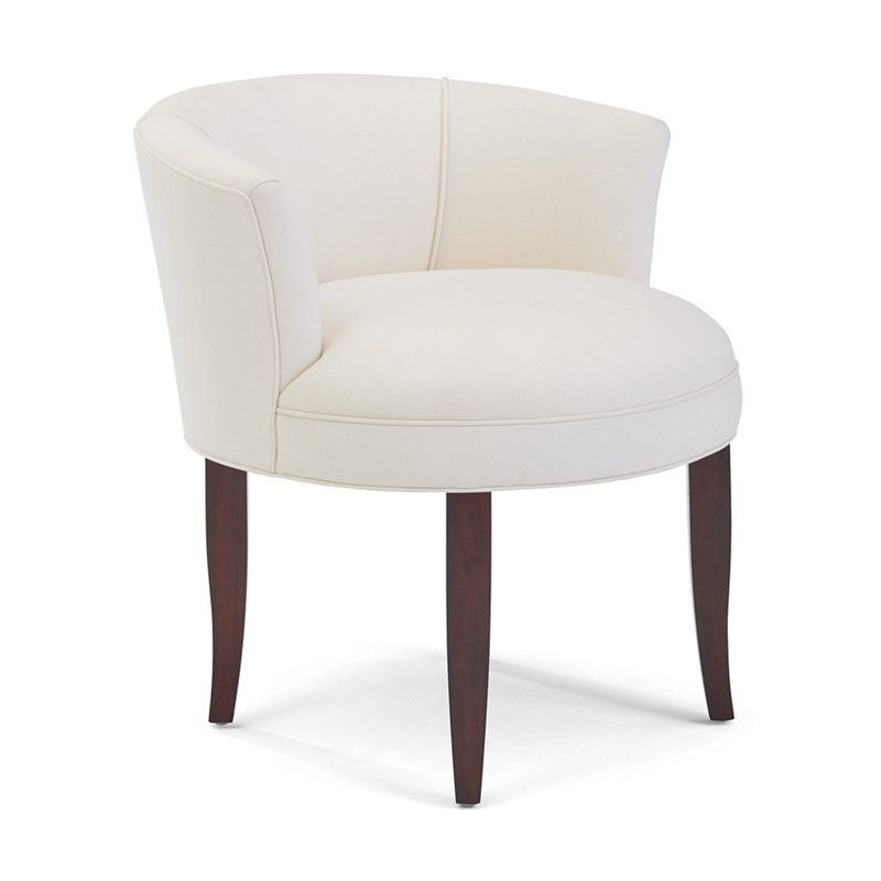 Mayfair vanity chair chairs ottomans furniture for Bedroom table chairs