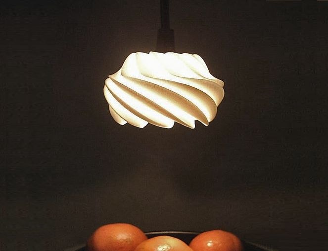 Konko Laser Sintered Light by Gabriel & Evenhuis