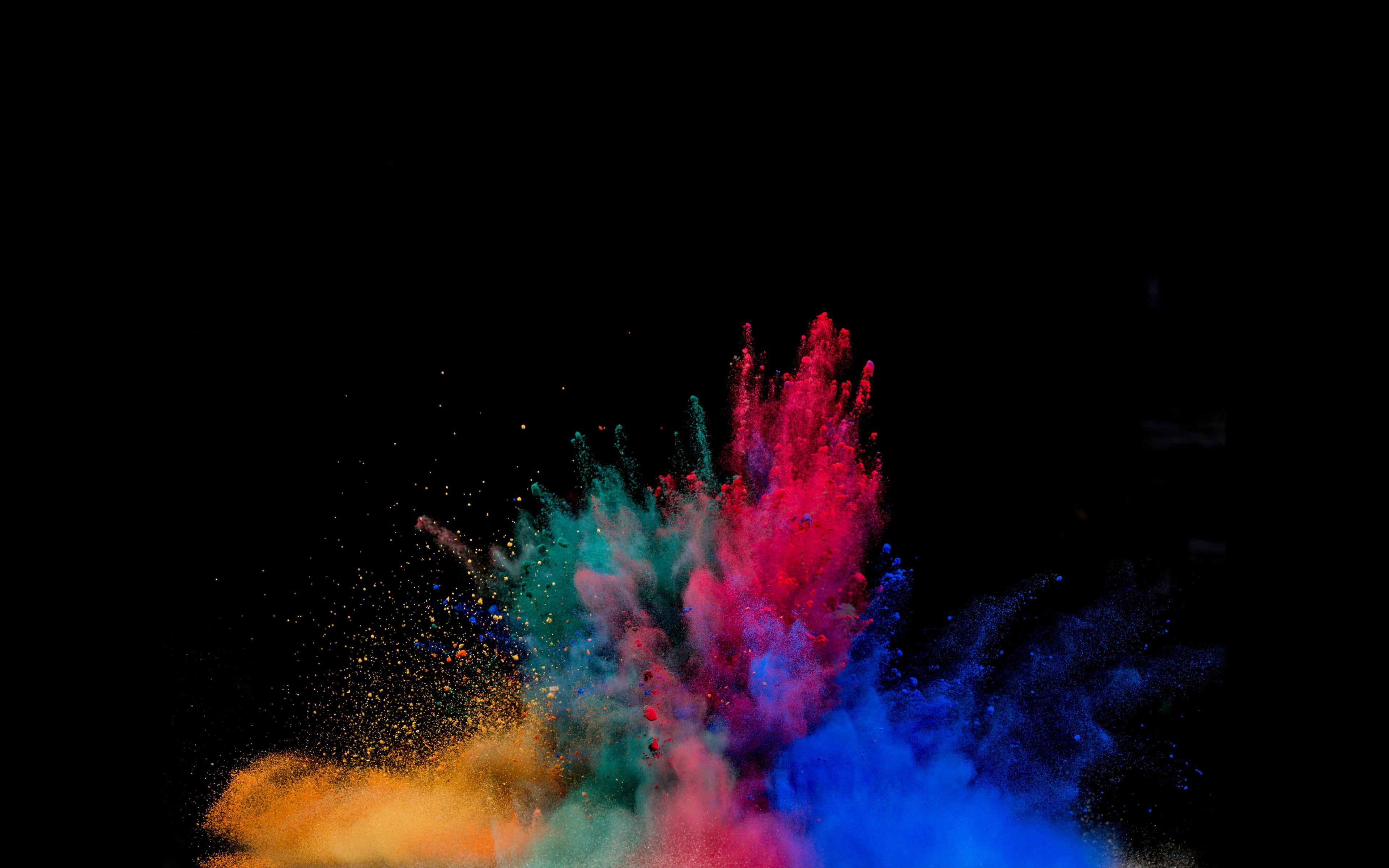 Colorful powder explosion colorful powder explosion is an - Explosion wallpaper ...