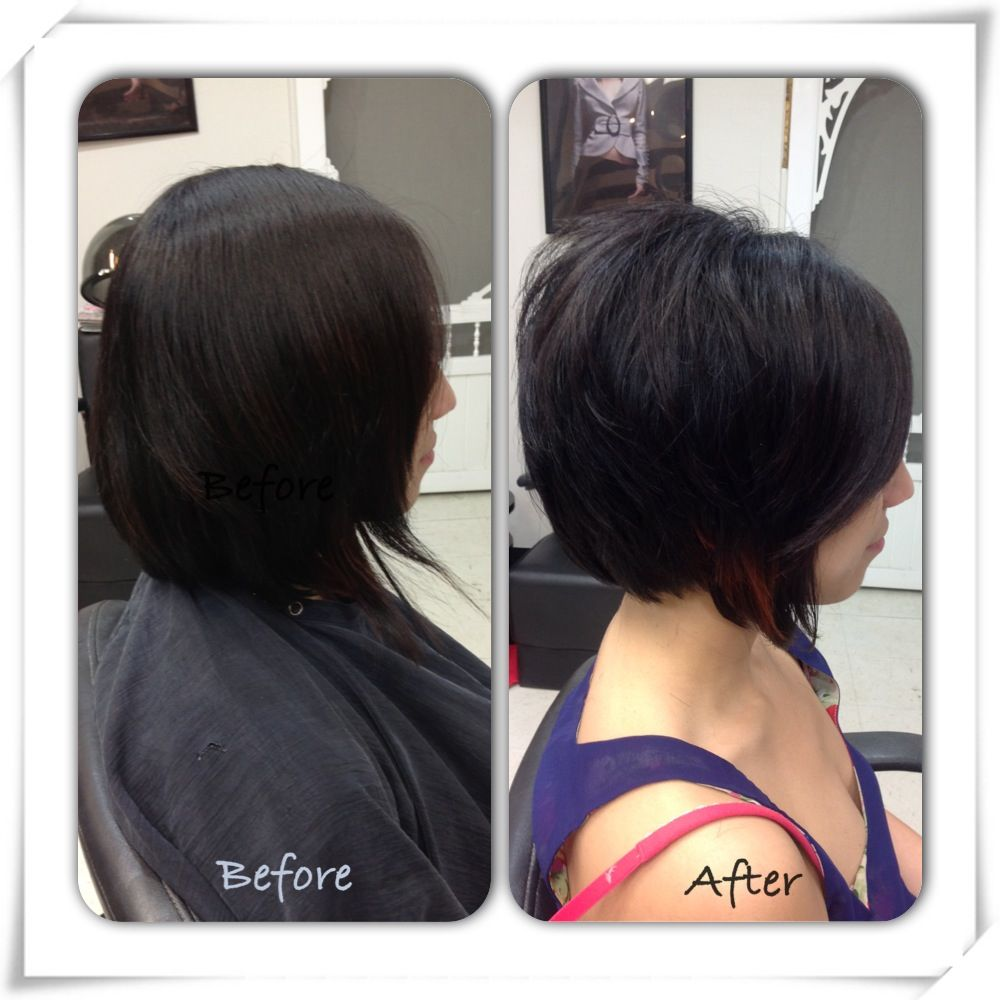 Pin By Karmen O On Before After Bob Hairstyles Hair Styles Short Hair Styles