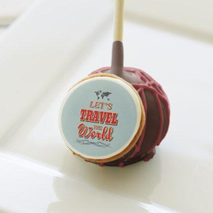 #stylish - #Let's travel the world cake pops