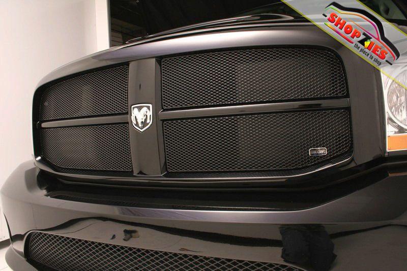Dodge Ram 2006 2009 1500 2500 3500 250 350 Black Upper Mesh Grille Grill Dodge Ram Dodge Ram 1500 Dodge