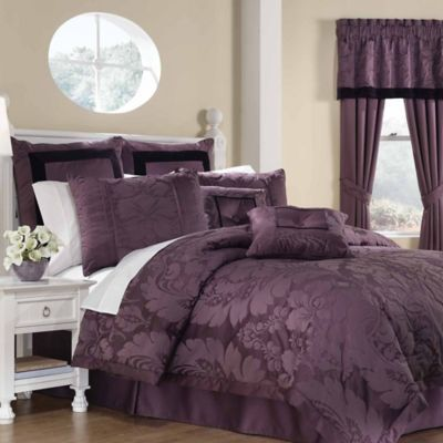 Buy Lorenzo 8 Piece King Comforter Set From Bed Bath Beyond