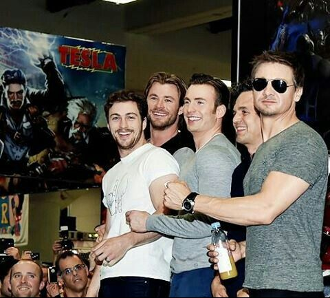 The boys of The Age of Ultron