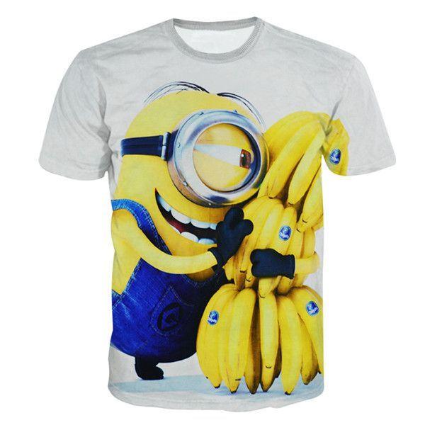 Minion Loves Bananas Shirt