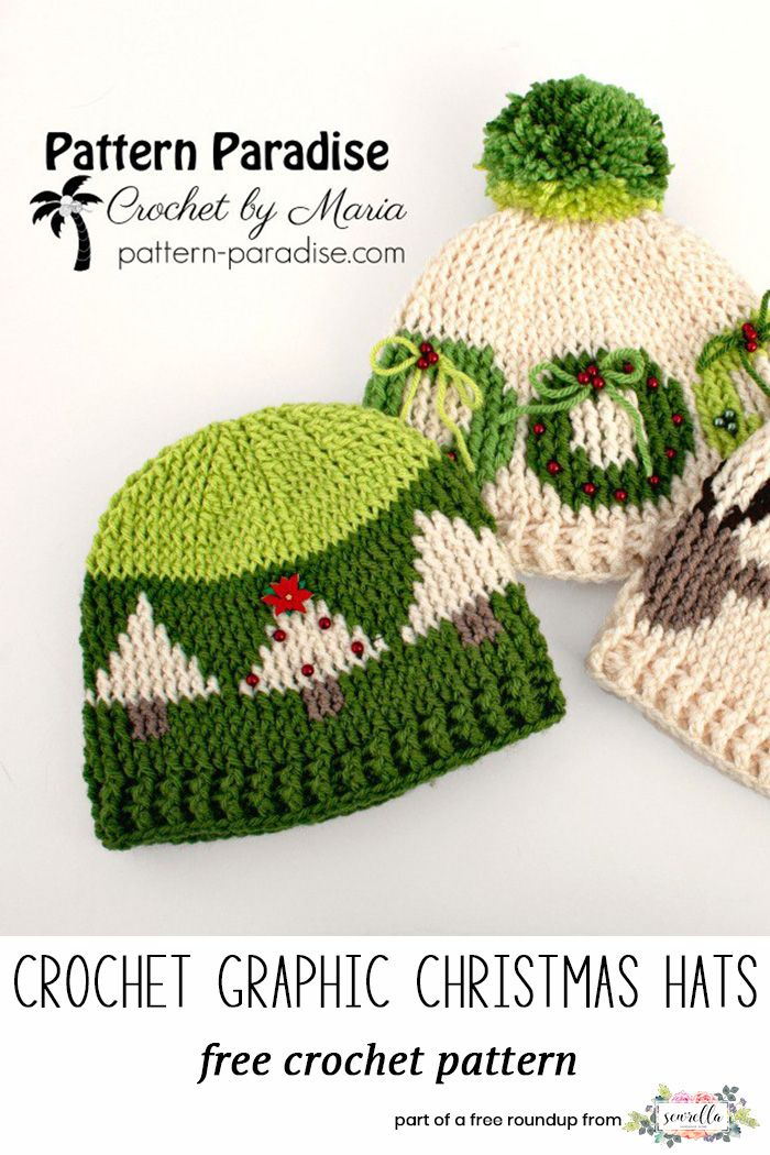 Crochet Last Minute Christmas Patterns | Free pattern, Paradise and ...