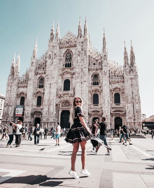 travel, fashion, and girl image