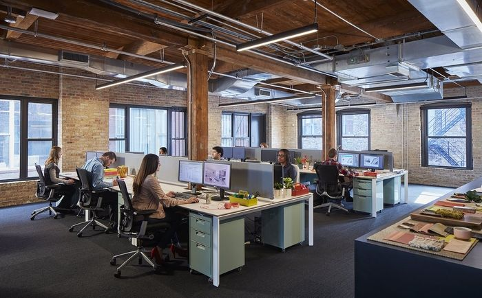 office tour partners by design offices chicago chicago open