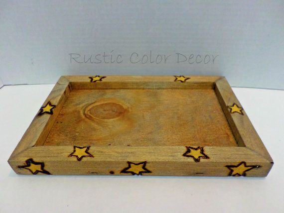 Check out this item in my Etsy shop https://www.etsy.com/listing/205832716/wooden-candle-tray