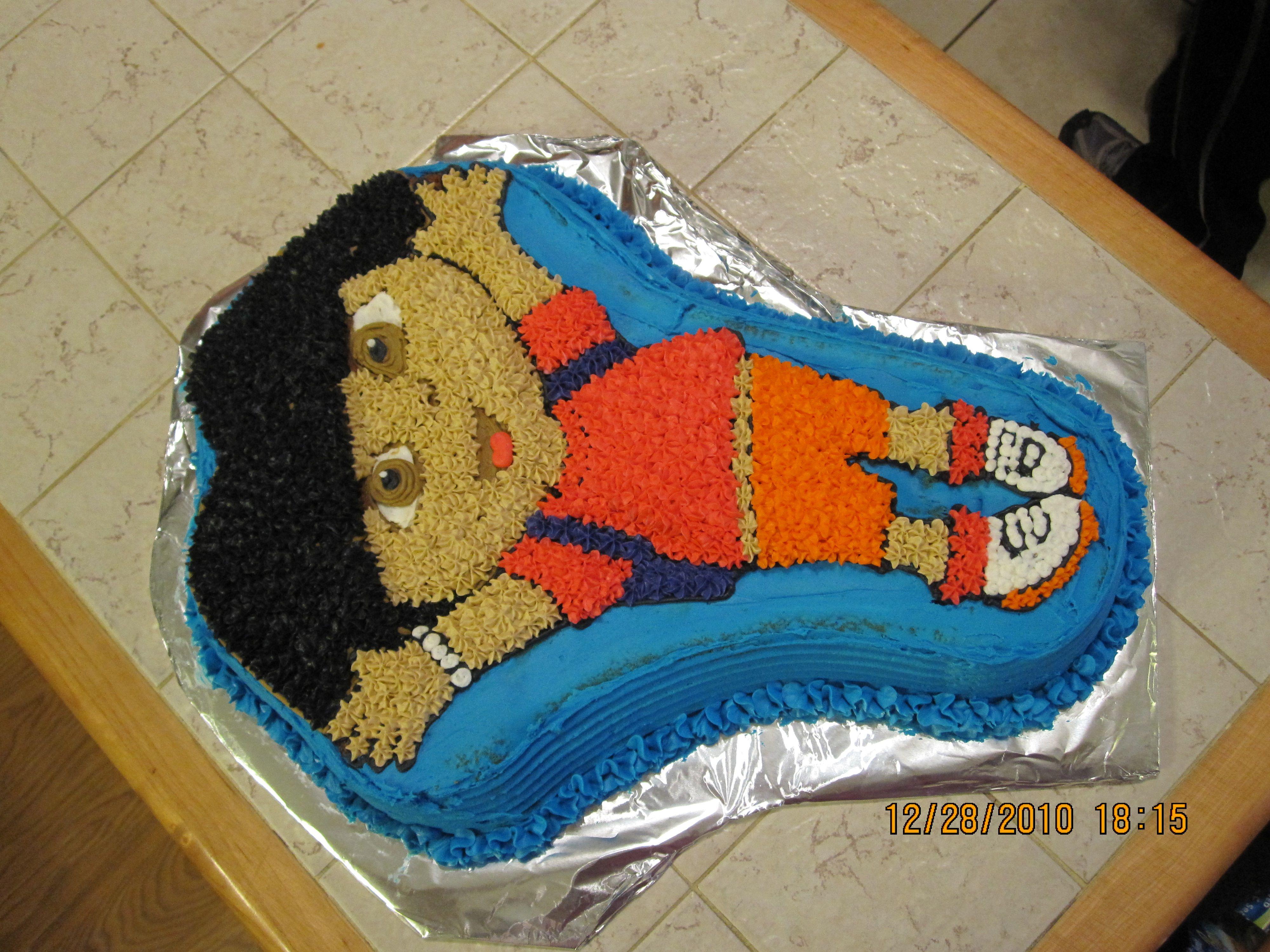 #Dora #Birthday #Cake