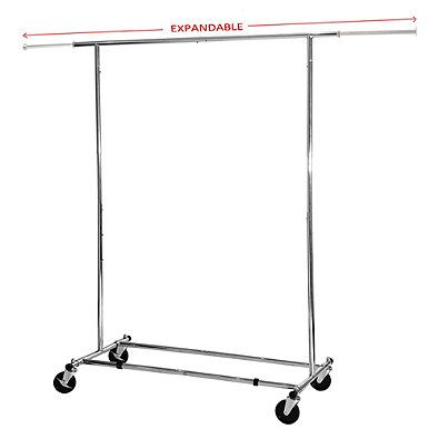 Simple Houseware Commercial Grade Clothing Garment Rack Chrome