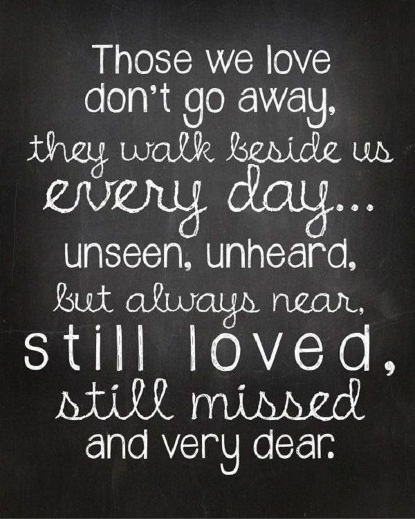 positive inspirational quote about loss and missing someone death quotes for loved ones quotes for