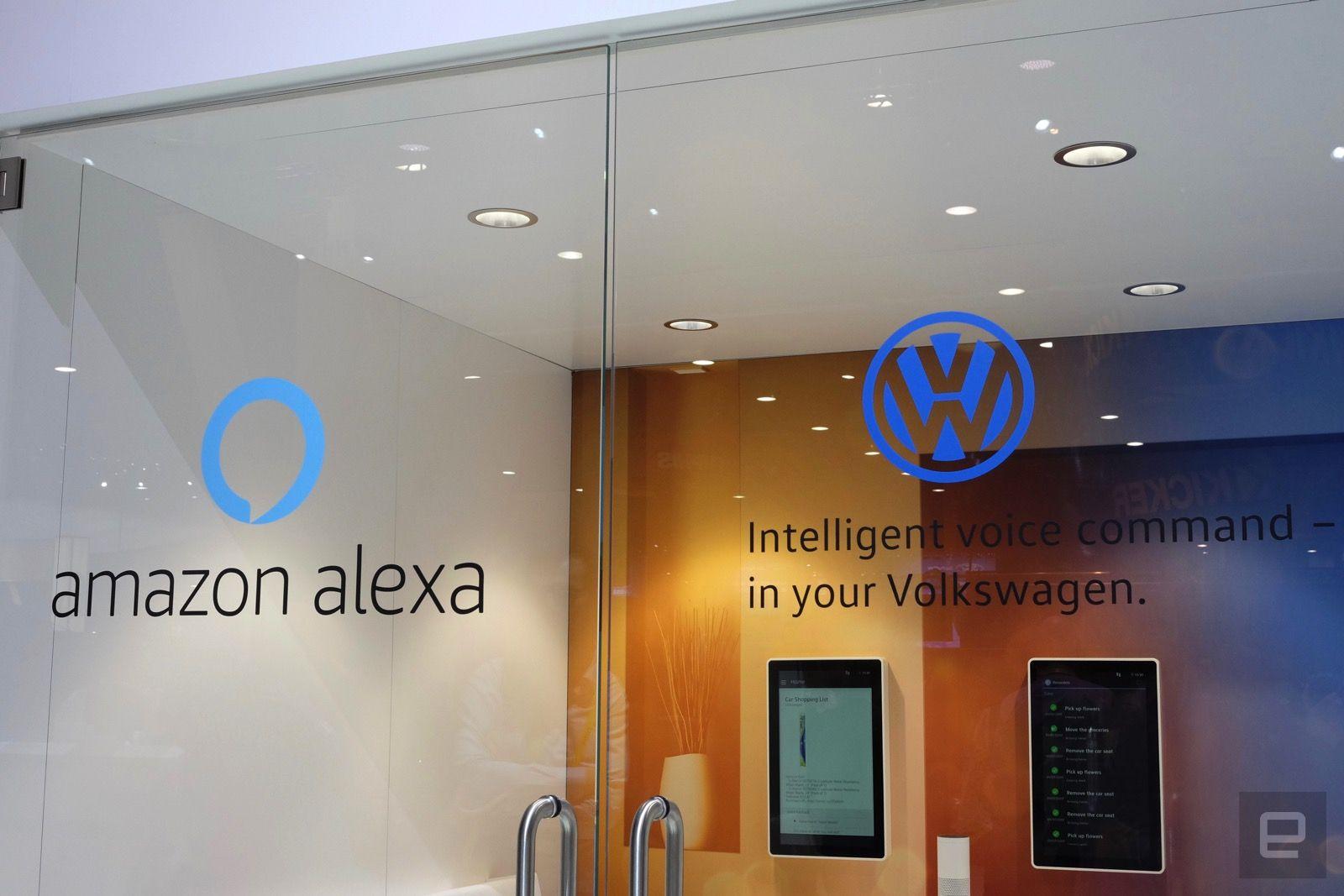 Volkwagen is adding Amazon Alexa to its cars
