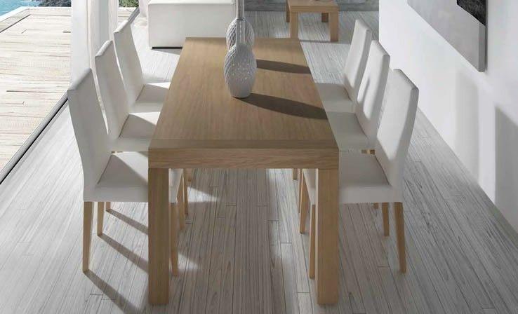 La mesa de comedor en chapa natural que a todos nos gusta ...