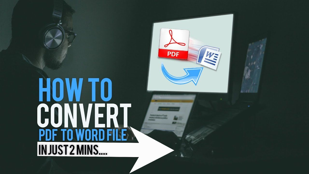 How To Convert Pdf To Word File In 2mins In 2020 Word File Word Online Words