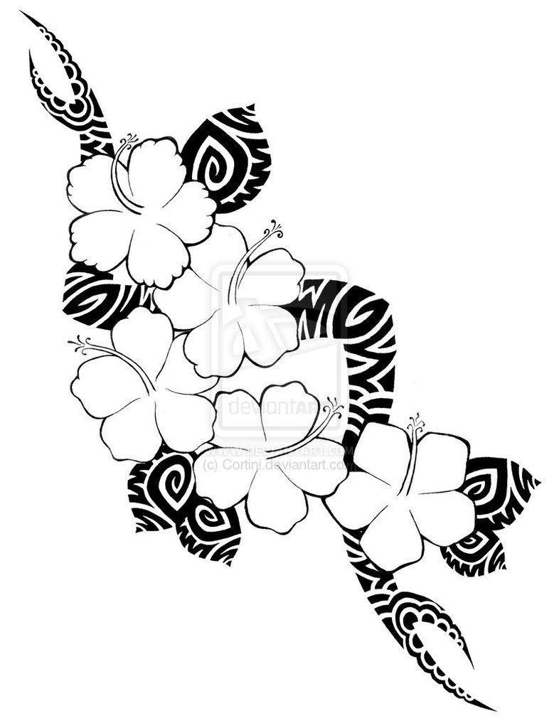 Hawaiian Tribal Tattoos Symbol Meanings Hawaiian Tribal Tattoo