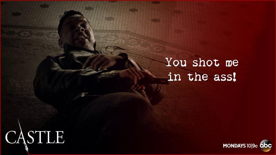You okay, Sarge? #Castle