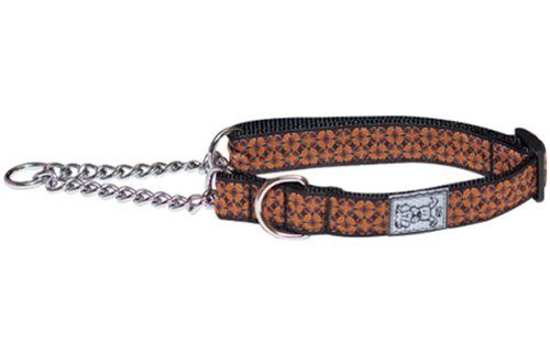 RC Pet Products 1Inch Training Martingale Dog Collar Large