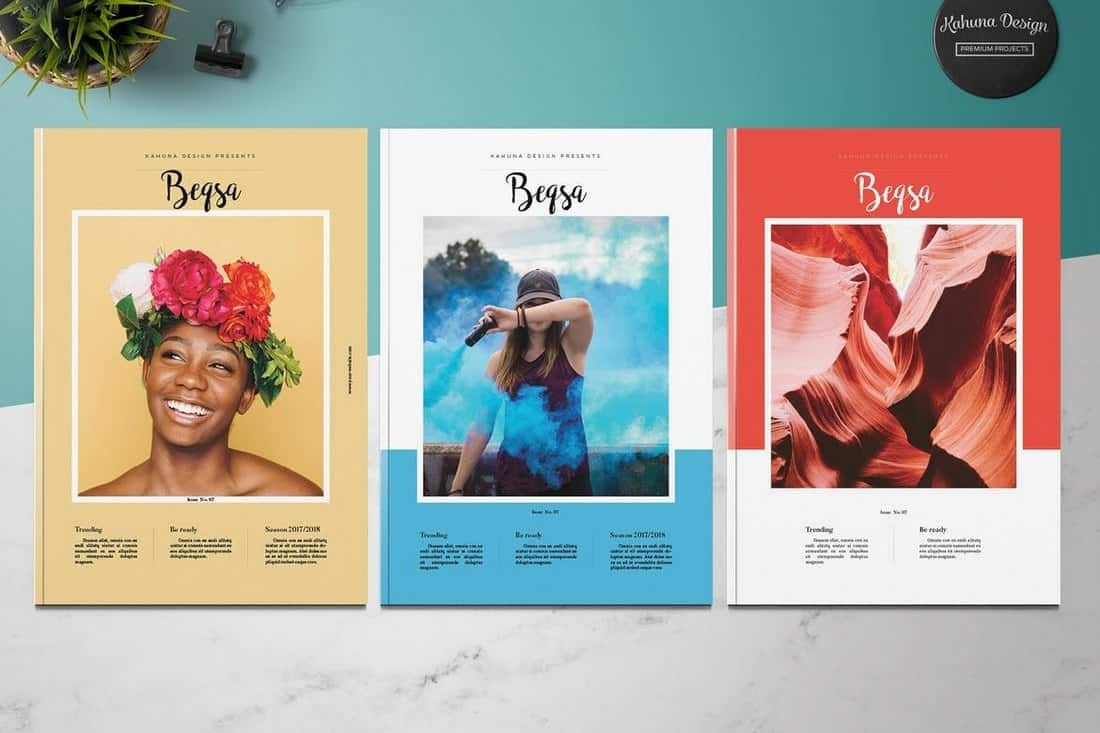 20+ meilleurs modèles InDesign 2019 (pour brochures, dépliants, livres, etc.) ...