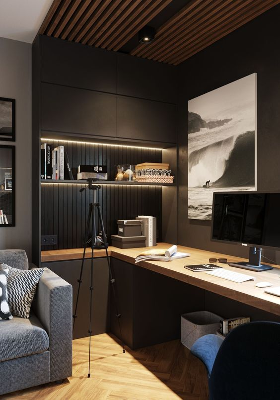 30 Best Home Office Design Ideas So That You Don T Compromise On Style Hike N Dip Office Interior Design Home Office Design Modern Home Office