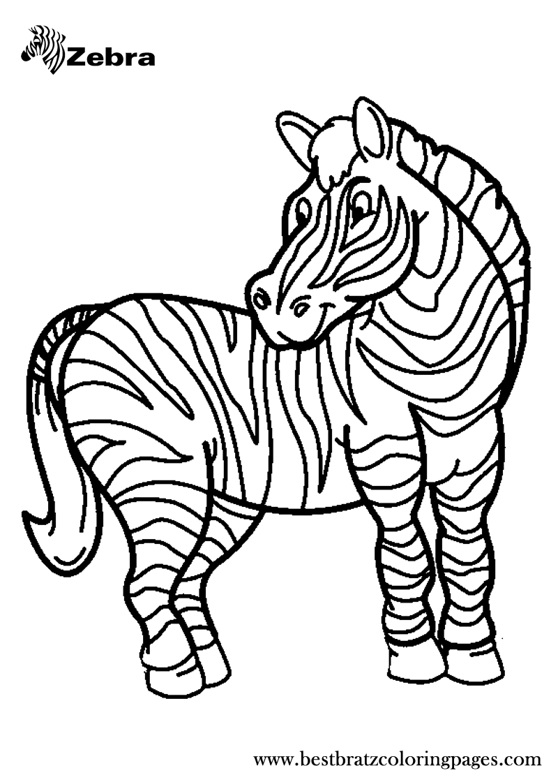 Free Printable Zebra Coloring Pages For Kids Animal Coloring Pages Zebra Coloring Pages Coloring Pictures Of Animals