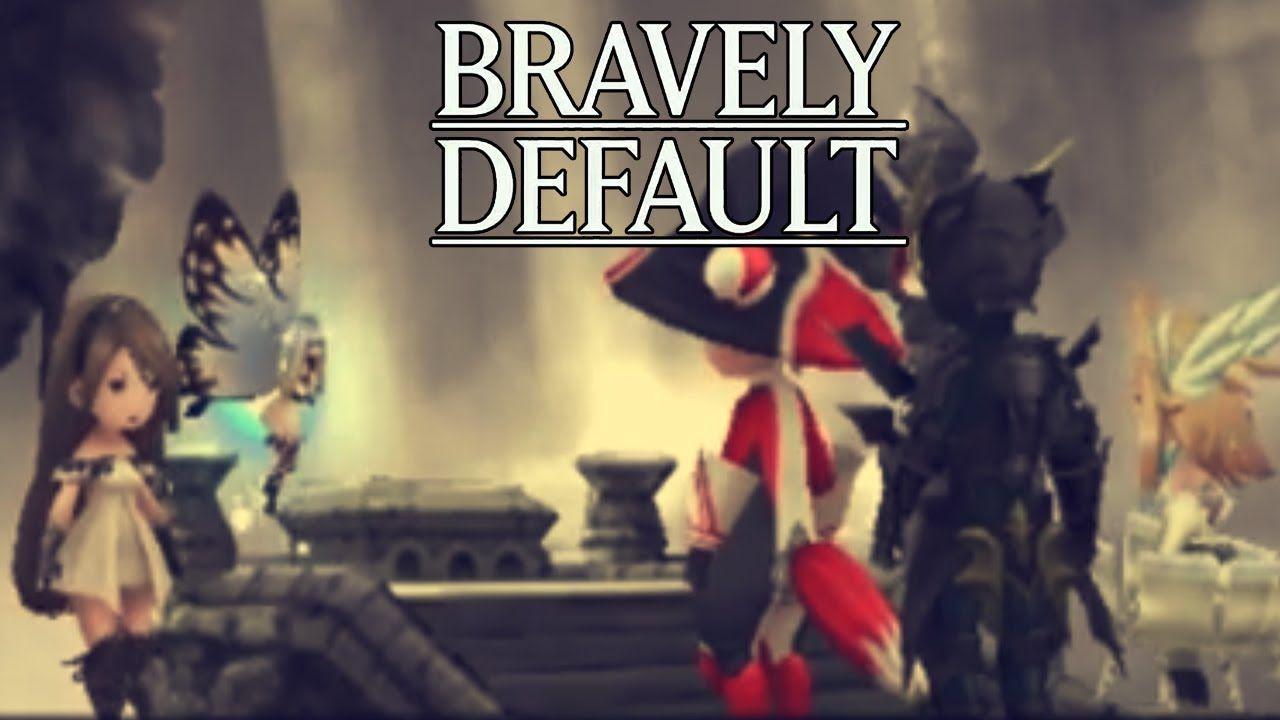 Let S Play Bravely Default Part 76 Reawaken 3 Crystals Gameplay Walkt Bravely Default Let It Be Lets Play