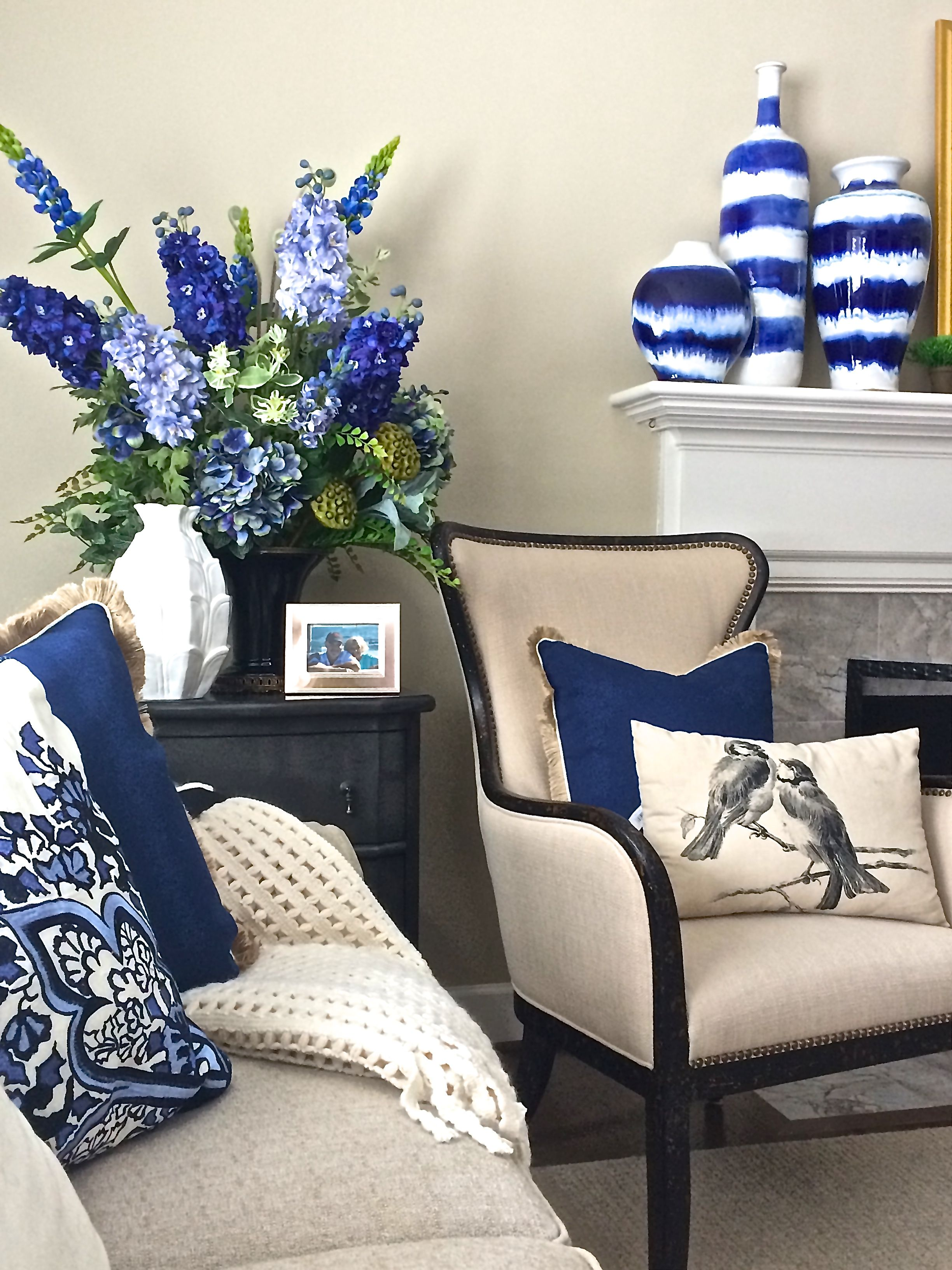 Looking to add a pop of color to your neutral decor for Neutral decor with pops of color