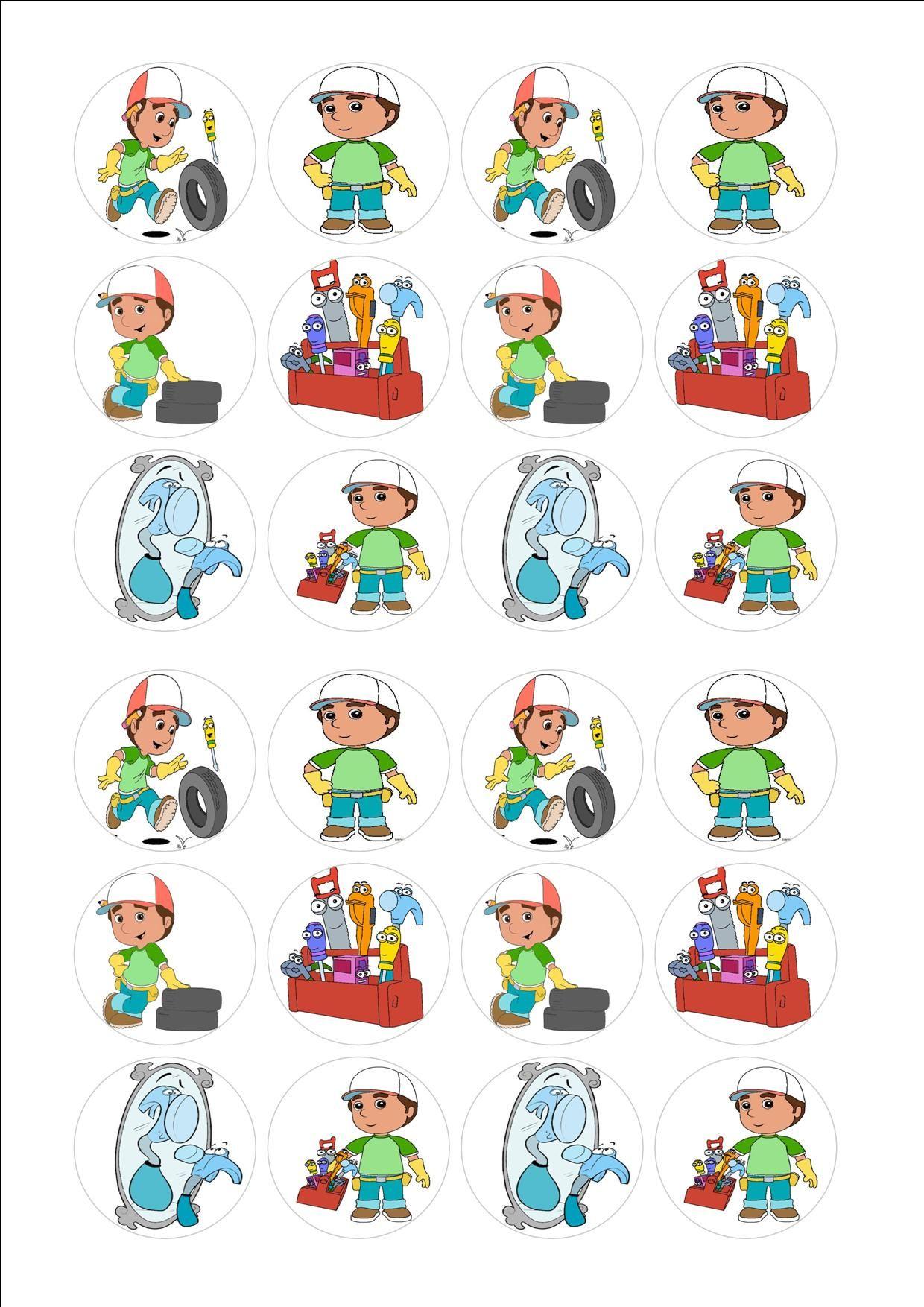 24 Handy Manny Jpg 1240 1754 Handy Manny Party Handy Manny Party Themes