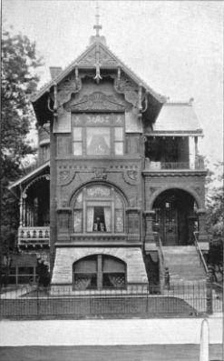 The Weinhardt Mansion 2135 W Pierce Wicker Park 1888 Chicago Built For Chicago West Park Commissio Chicago Architecture Wicker Park Chicago Chicago History