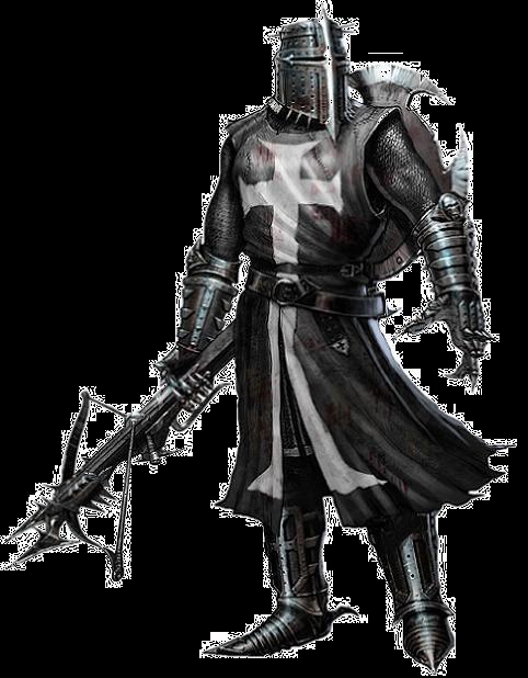 Black Knight Knight Fantasy Armor Blackest Knight