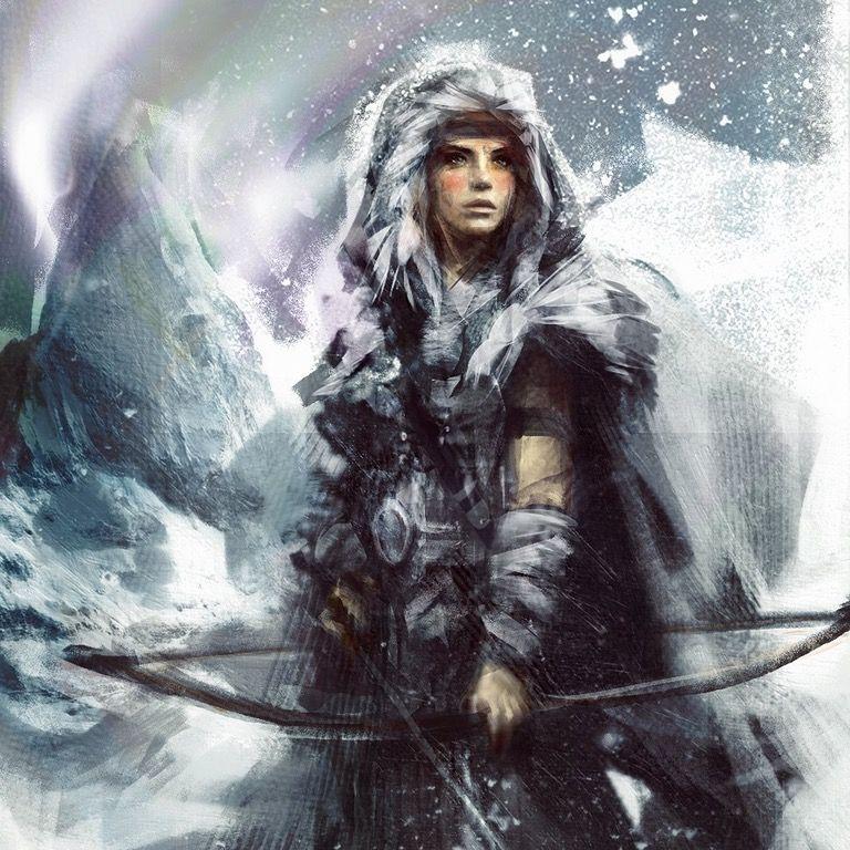 Skadi, Goddess of Winter: armoredwomen | Mitologia nórdica, Deusa ...