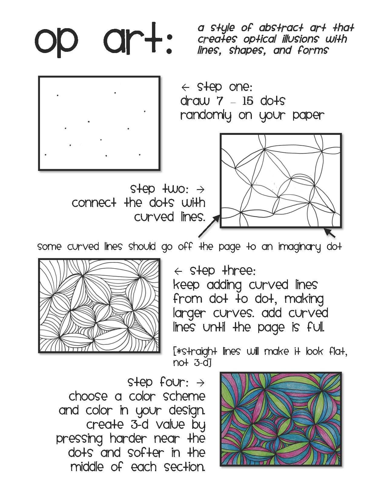 Worksheets Optical Illusion Worksheets httpmedia cache ak0 pinimg comoriginals308026 zentangles