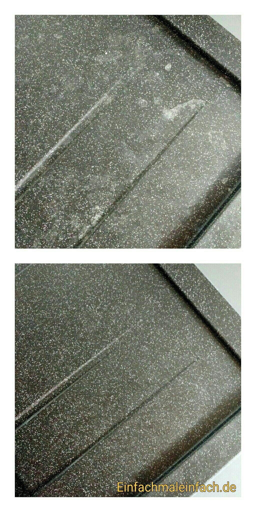 Diy Granitspüle Fleckenfrei Reinigen Reinigen Granit Küche Reinigen