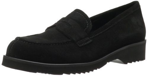 La Canadienne Womens Halle Suede FlatBlack65 M US ** Click image to review more details. Note:It is Affiliate Link to Amazon.