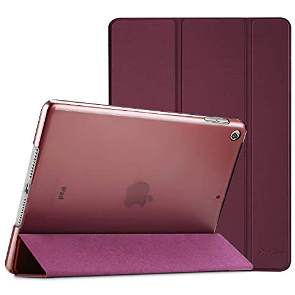 Procase Ipad 10 2 Case 2019 Ipad 7th Generation Case Slim Stand Hard Back Shell Protective Smart Cover Case For Ipad 7th Gen 1 Leather Ipad Case Ipad Case Ipad