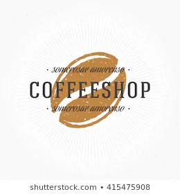 Coffee Beans Logo Images Stock Photos Coffee Bean Logo Coffee Beans Coffee Logo