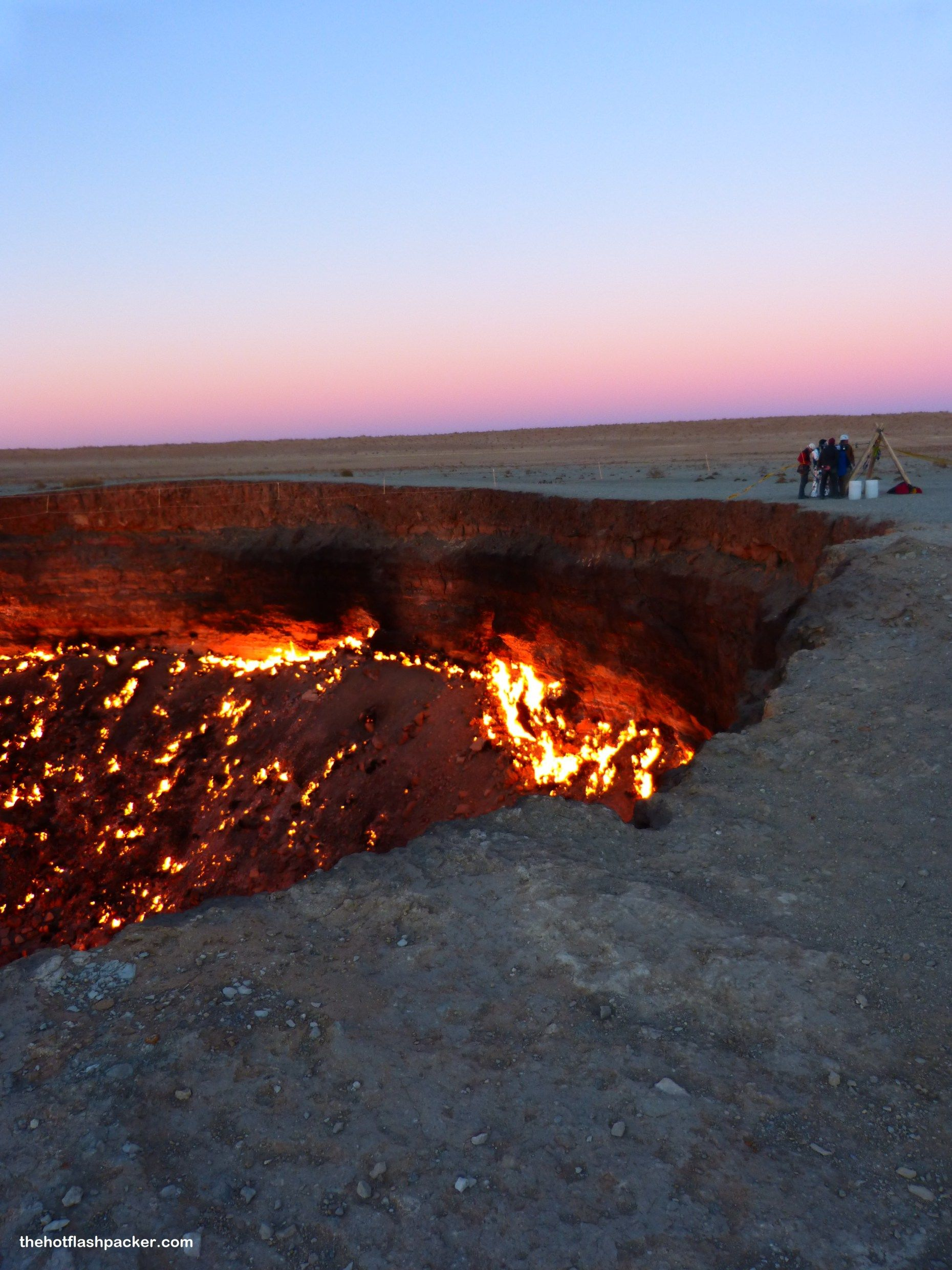 d6a2a7389 Darvaza Gas Crater (Fire in the Hole!) | Places | In the hole, The ...